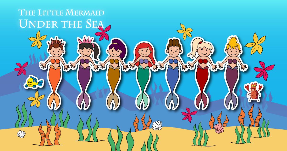 ディズニー映画「リトル・マーメイド」公開30周年記念【第二弾】 Under the Sea (The Little Mermaid)